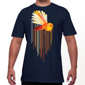 String Theory Fantail w/ Back print Mens