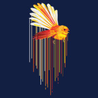 String Theory Fantail w/back print Design